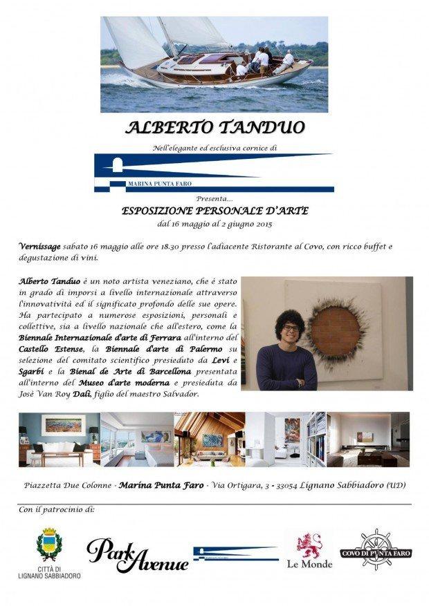 10986678 961890603829326 23131673595375020 o 620x877 16.05.2015   Alberto Tanduo esposizione personale