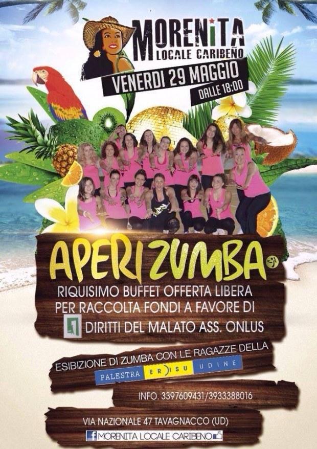 11058530 10153296526751530 244084663054964366 n 620x878 29.05.2015   Aperuzumba al Morenita di Udine