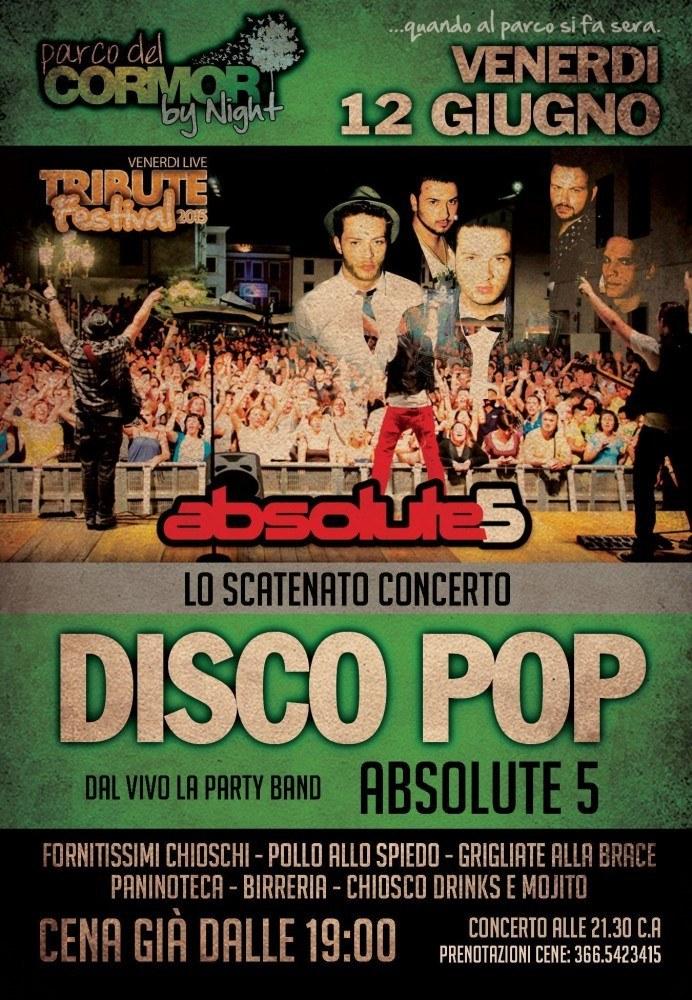 absolute 5 692x1000 Tribute Festival, dal 29 maggio al 28 agosto a Udine al Parco del Cormor