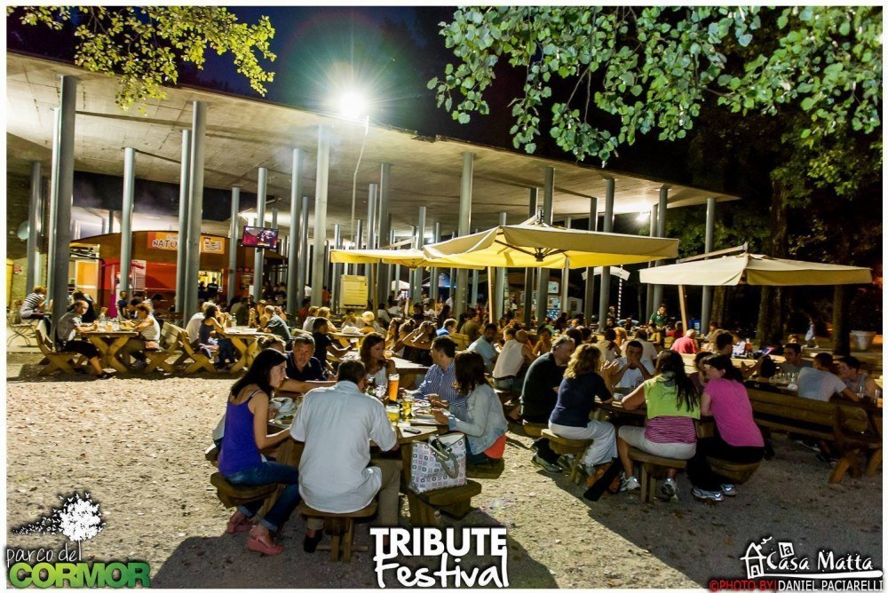 area ristoro 1000x668 Tribute Festival, dal 29 maggio al 28 agosto a Udine al Parco del Cormor