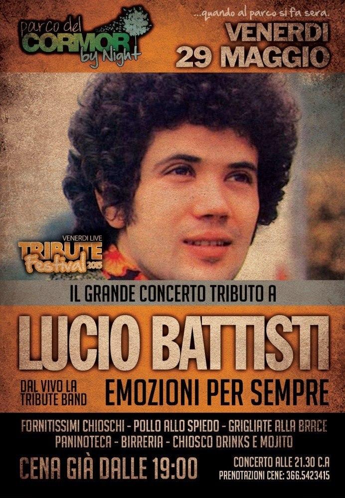 battisti 692x1000 Tribute Festival, dal 29 maggio al 28 agosto a Udine al Parco del Cormor