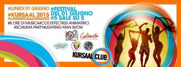 kursaal festival lignano 620x229 01.06.2015   Kursaal Lignano Festival