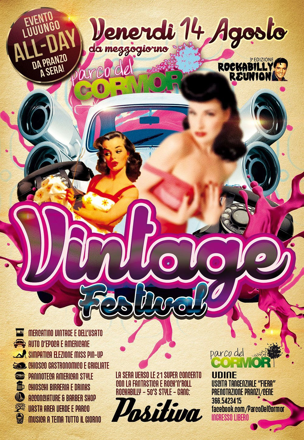 Vintage festival a udine spazi disponibili per mercatini - Mercatini vintage veneto ...