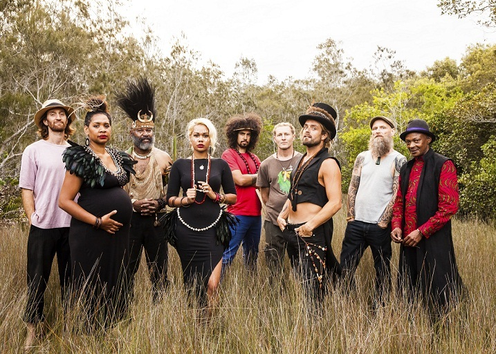 xavier rudd 18.07.2015   XAVIER RUDD & THE UNITED NATIONS + CHADWICK STOKES a Udine