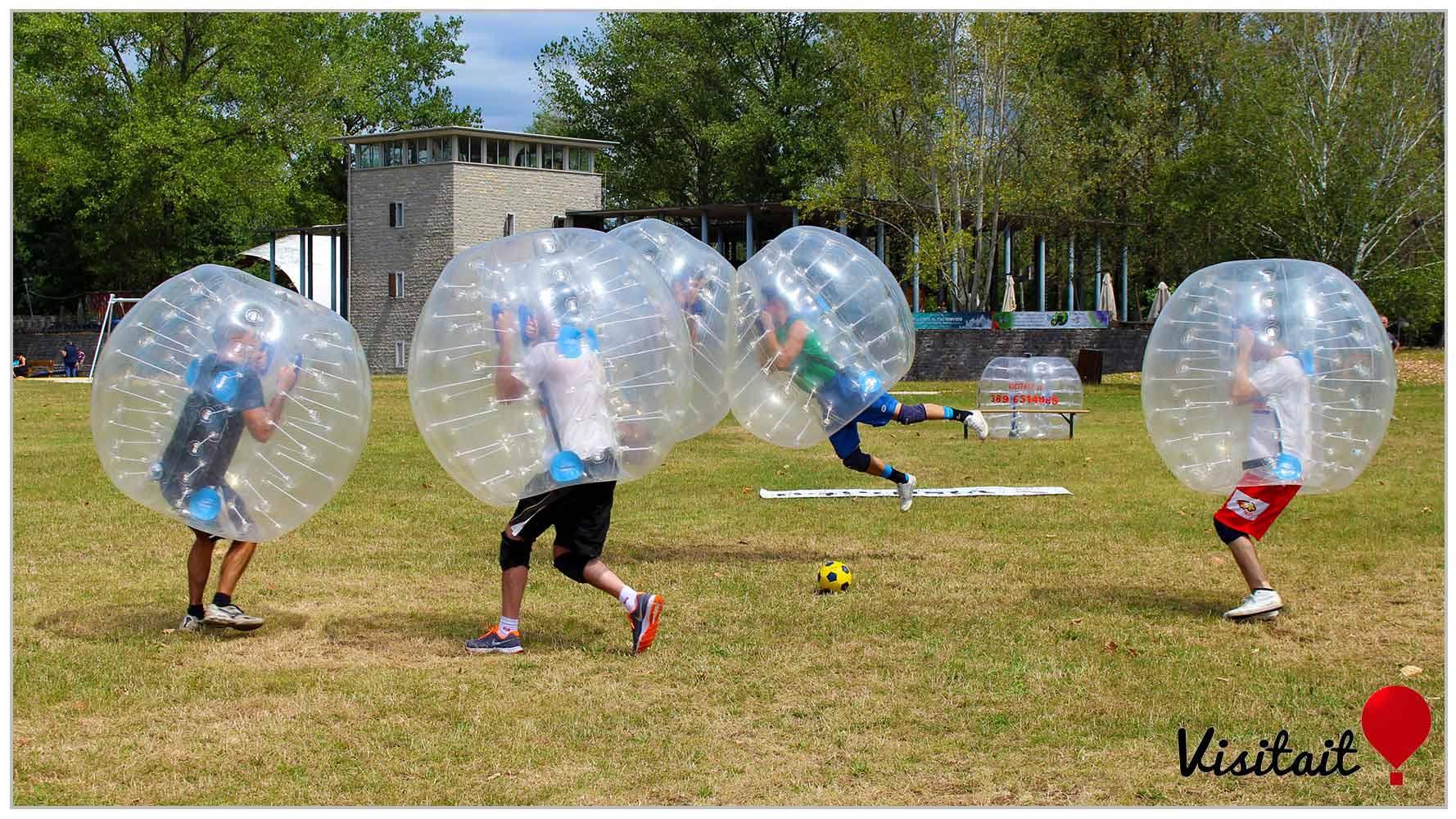 bubblefootball1 CORMOR WEEK AL PARCO DEL CORMOR, DAL 27 AL 30 AGOSTO FRA CONCERTI, FESTIVAL, SPORT E MUSICA.