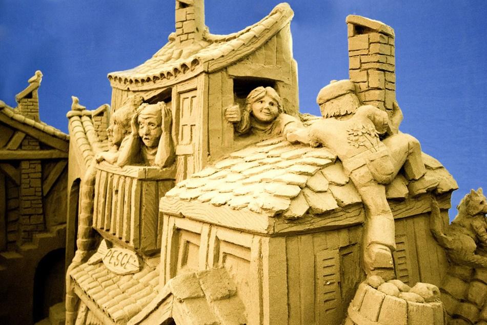 presepe lignano 1 Ritorna il grande Presepe di Sabbia di Lignano Sabbiadoro alla sua XII edizione