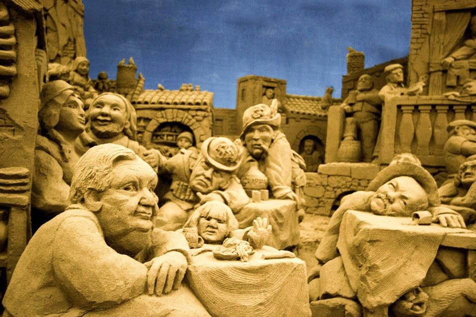 presepe lignano 2 Ritorna il grande Presepe di Sabbia di Lignano Sabbiadoro alla sua XII edizione