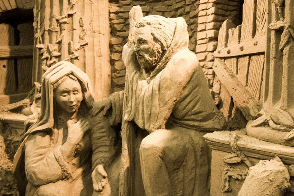 presepe lignano 4 Ritorna il grande Presepe di Sabbia di Lignano Sabbiadoro alla sua XII edizione