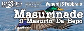 05.02.2016 – LA MASURINADE, a cena col Masurin. Trattoria Da Bepo Bugnins