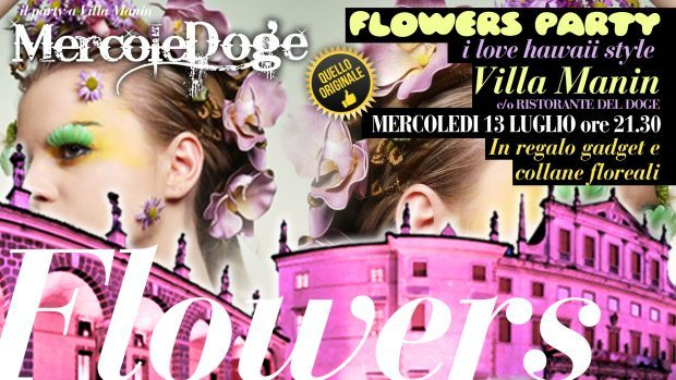 13603568 1226060017412887 3189859163709863060 o 620x349 Flowers Party, i love hawaii style. Villa Manin mercoledì 13 luglio