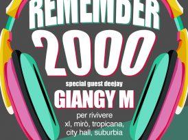 Remember 2000 Party – Mercoledì 27 Luglio, Villa Manin