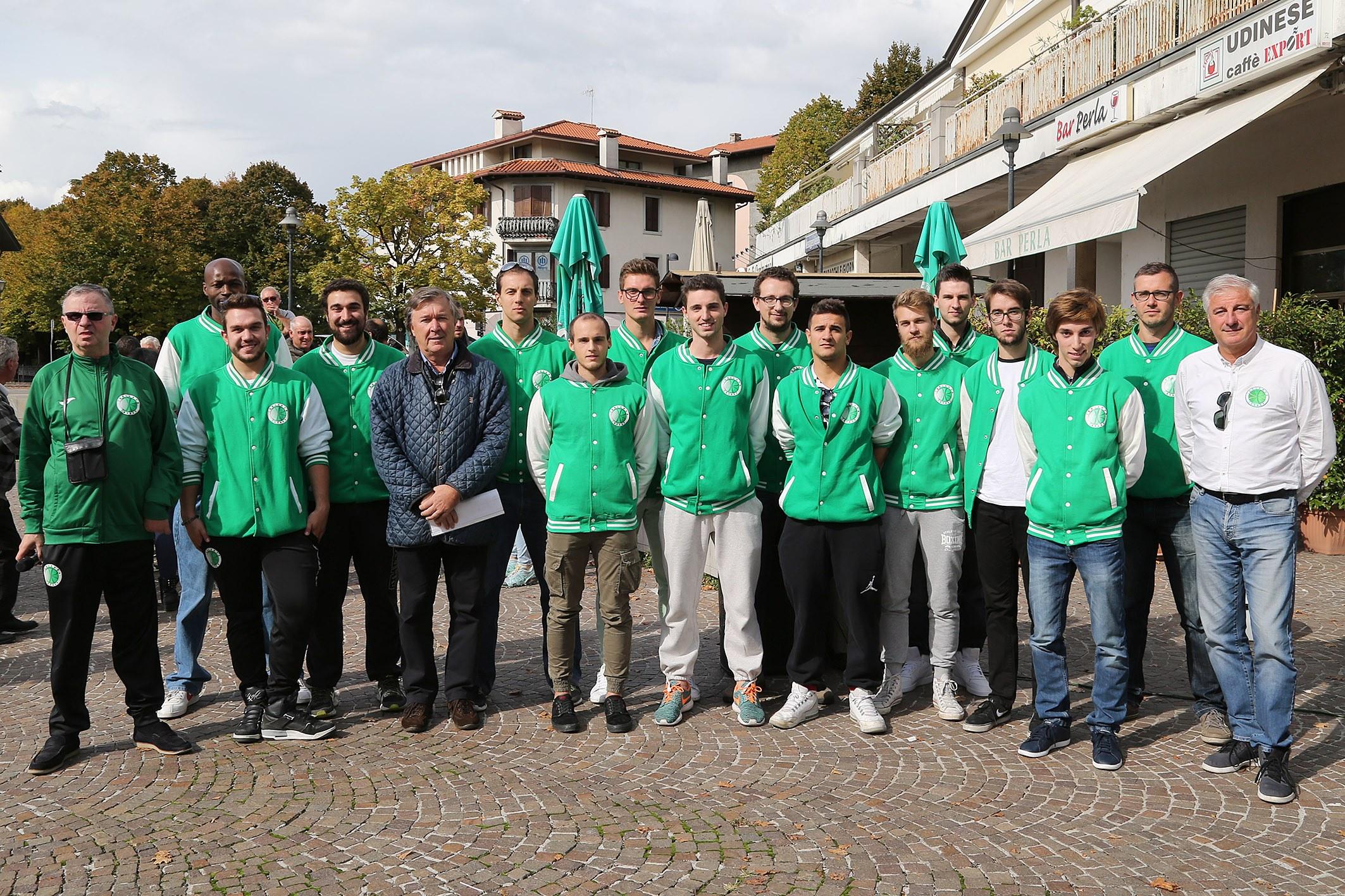 fotomenis 7016 Il Tarcento basket ha presentato la stagione sportiva 2016 17