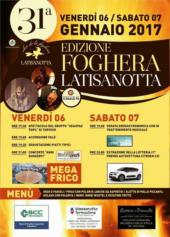 img 6574 6   7 Gennaio 2017 Edizione Foghera Latisanotta