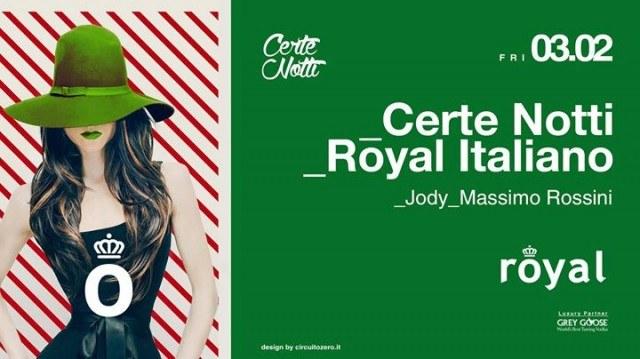 royal pordenone venerdi 3 febbraio certe notti 00559853 001 3.02.2017   Royal Pordenone   Cordenons