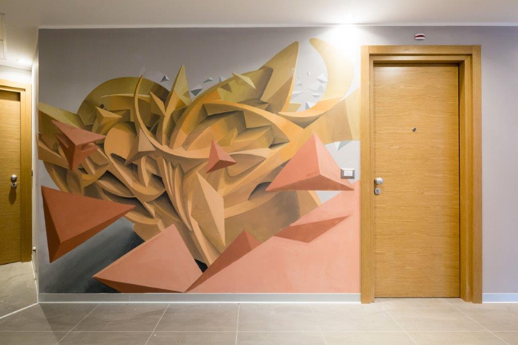 peeta 1  9th floor at the nyx milan c marco curatolo lab c3 Da NYX Hotel Milano: lhotel diventa opera darte tra street art e design davanguardia