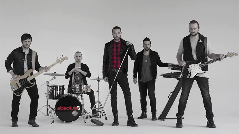 absolute5 funky go  Venerdì 31 marzo dalle ore 22:30   Funky go a Codroipo presenta: Absolute5 Band
