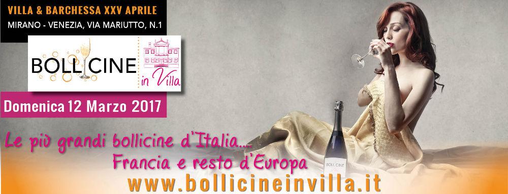 facebookbollicineinvilla20ridotta201000 Bollicine in Villa   1° Edizione   domenica 12 marzo 2017