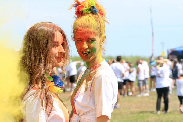 The color run a Lignano, 29 luglio 2017
