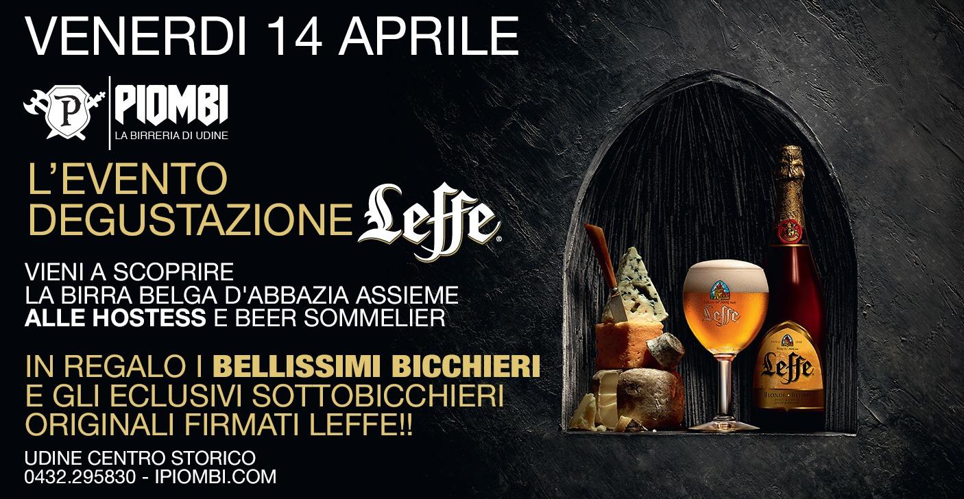 556a8028 4b37 4677 bfb5 298112d7016f Degustazione Leffe. Venerdì 14 Aprile dalle 19.00. I Piombi  Birreria    Udine