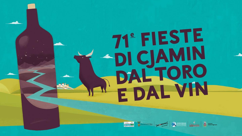 71e Fieste di Cjamin dal Toro e dal Vin, che si svolgerà a Camino al Tagliamento: 27-28 maggio e 1-2-3-4 giugno 2017