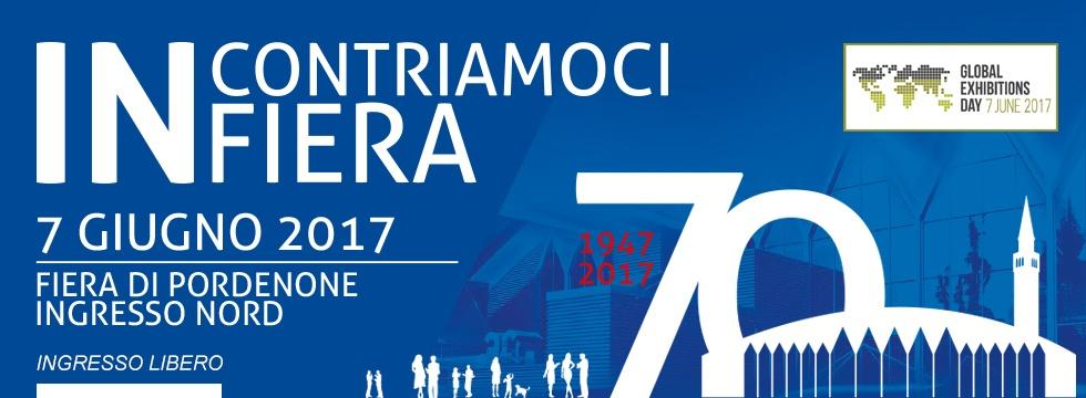 INCONTRIAMOCI IN FIERA banner 980x360 Un evento per celebrare la Giornata Mondiale delle Fiere e il 70esimo anniversario della Fiera di Pordenone