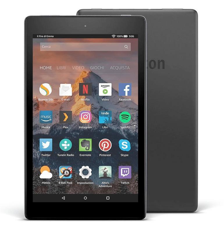 Schermata 2017 05 18 alle 12.08.17 Amazon lancia i nuovi Tablet Fire 7 e Fire HD 8: display migliorato, batteria di maggiore durata, Wi Fi potenziato