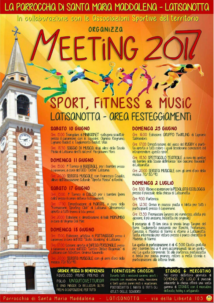 Meeting 2017 Latisana