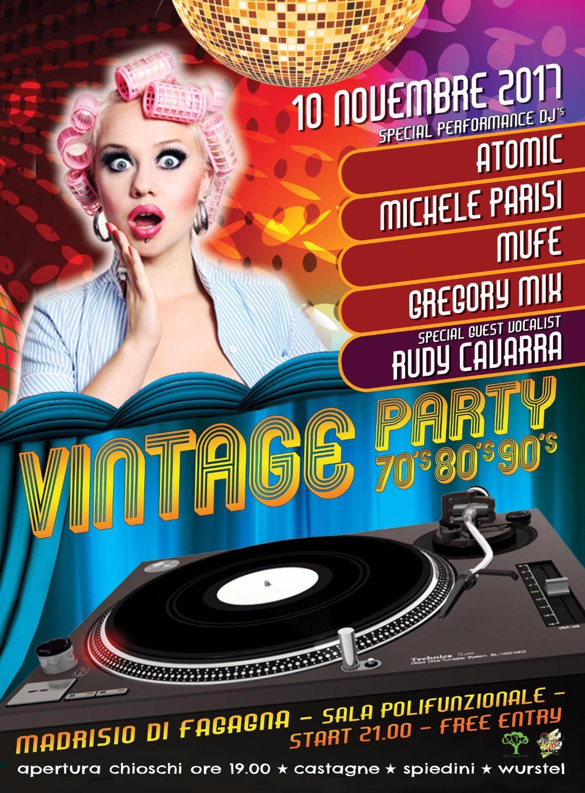 evento friuli 23f694e6 602c 4ef7 8456 b3f2a47a9800 10.11.2017   vintage party 70/80/90 Madrisio di Fagagna