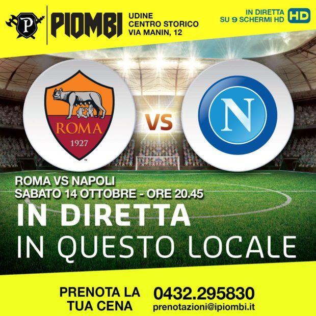 evento friuli roma napoli diretta udine ai piombi 14 1 620x620 ROMA   NAPOLI in diretta a Udine ai Piombi