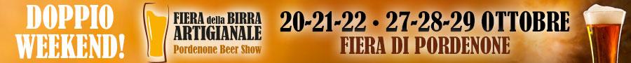 pre header birra Fiera della Birra Artigianale   Pordenone Beer Show, 20   21   22   27   28   29 OTTOBRE 2017