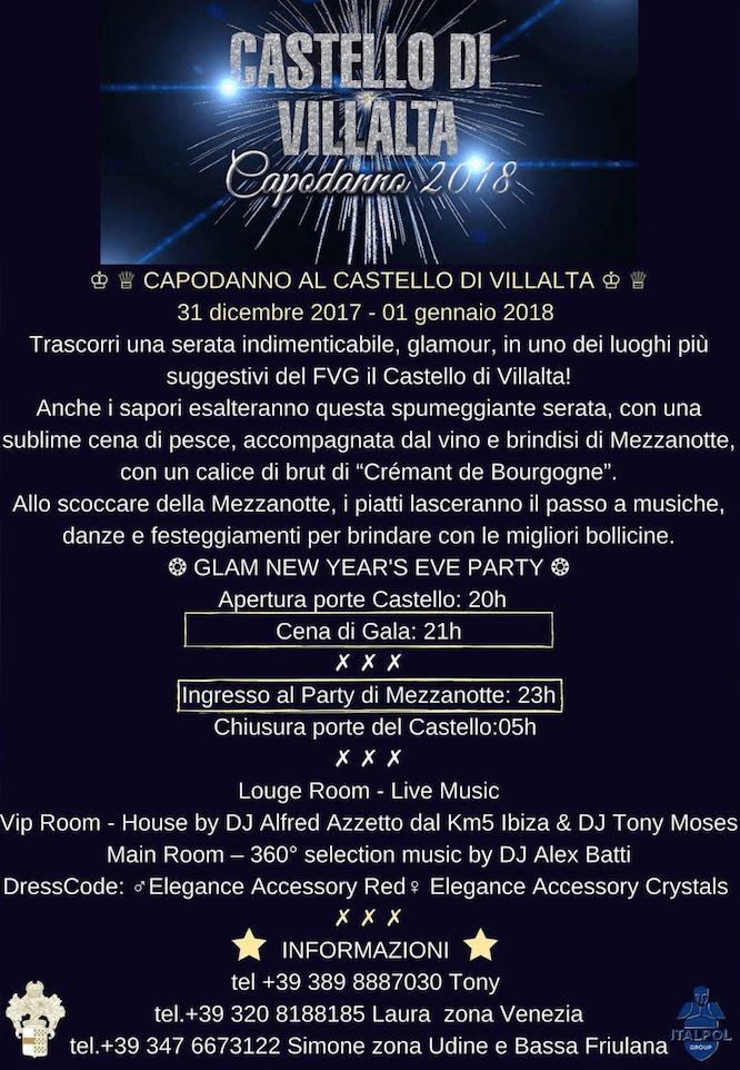evento friuli schermata 2017 12 06 alle 10.17.01 1 Capodanno 2018 Al castello di Villalta