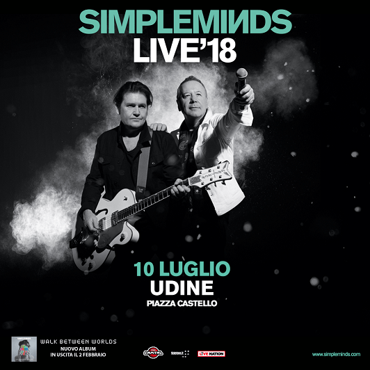 evento friuli simple minds la band che ha fatto la storia del rock 80 e 90 live a luglio in castello a udine simple minds art web SIMPLE MINDS   La band che ha fatto la storia del rock 80 e 90 live a luglio in Castello a Udine