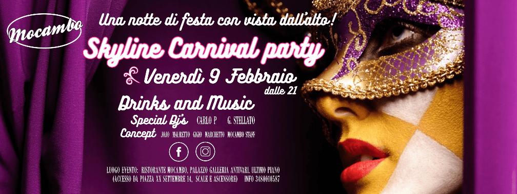 evento friuli schermata 2018 01 30 alle 11.50.50 Skyline carnival party 9 febbraio 2018